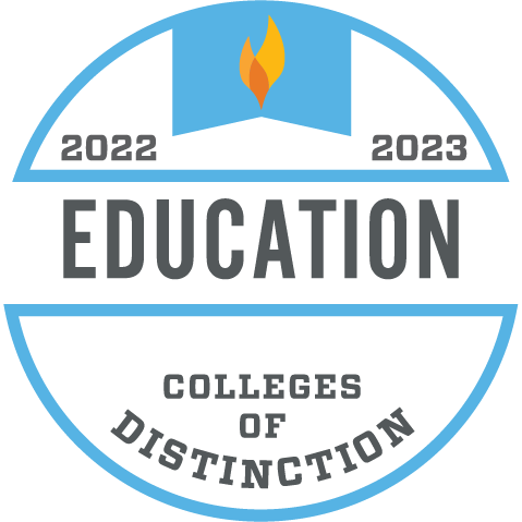 Colleges of distinction business badge colleges of distinction education badge