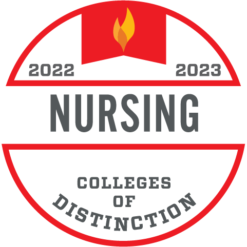 Colleges of Distinction Nursing Badge