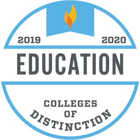 Colleges of Distinction Education Badge