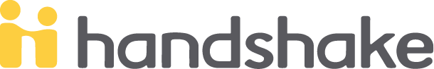 Handshake two-color primary logo