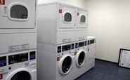 Image of an Aspire Hall laundry