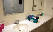Image of residence hall suite bathroom sinks