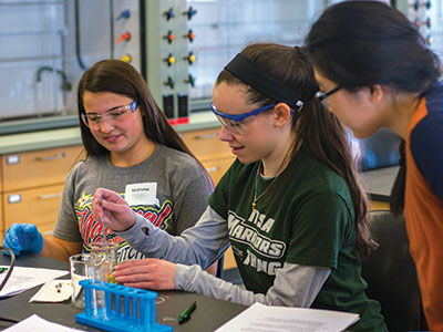 Young Women S Science Program Wisconsin Lutheran College