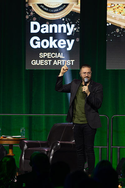 2019 DSA Gokey performing